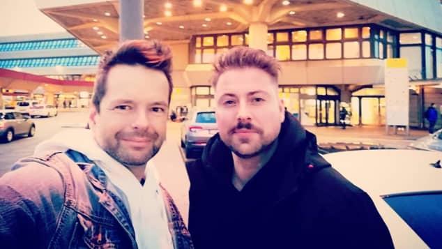Carsten Michel und Felix von Jascheroff