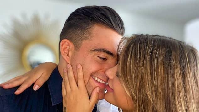 Stefano Zarrella und GNTM-Kandidatin Romina verliebt auf Instagram
