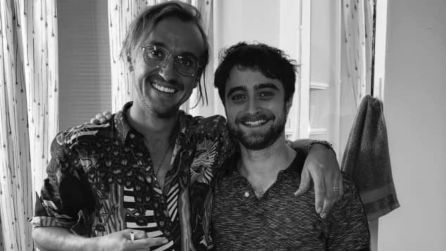 Harry Potter Tom Felton Daniel Radcliffe Reunion