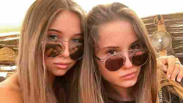 Shania und Davina Geiss sehen sich zum Verwechseln ähnlich