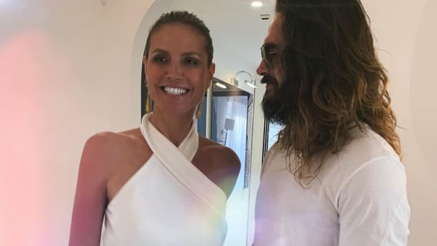 Heidi Klum und Tom Kaulitz auf Capri