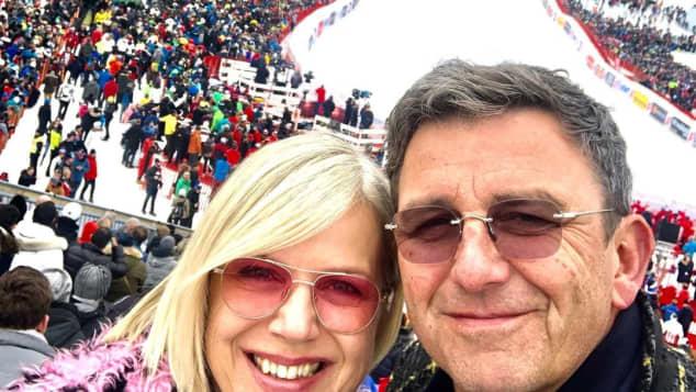 Hans Sigl Frau Susanne Sigl Bild Selfie