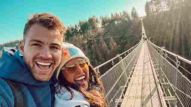 Sarah und Julian bei einem Ausflug 2021