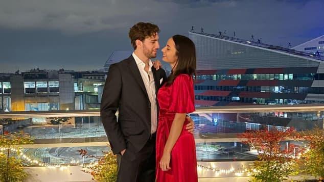 Manuel Locatelli und Thessa Lacovich