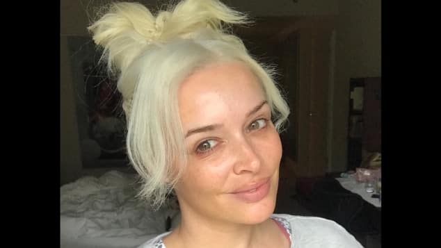 So sieht Kult-Blondine Daniela Katzenberger ungeschminkt aus