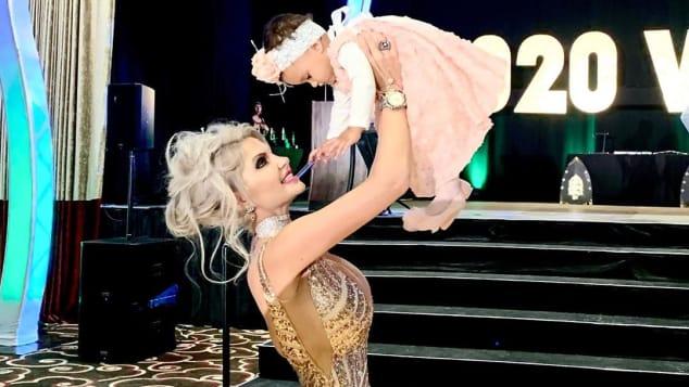 Sophia Vegas Tochter Amanda