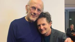 """Christopher Lloyd und Michael J. Fox: Die Stars aus """"Zurück in die Zukunft"""""""