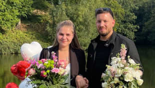Sylvana Wollny und Florian Köster