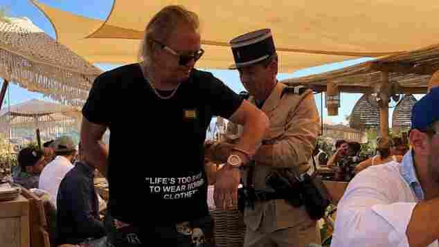 Robert Geiss verhaftet Polizei