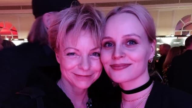 Julia Grimpe und Jenny Löffler bei der Berlinale 2020