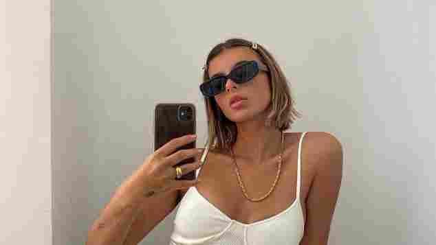 GNTM-Kandidatin Romina Palm Selfie auf Instagram