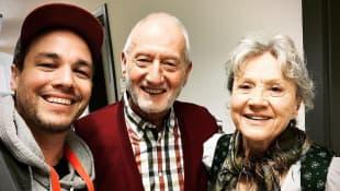 Jan van Weyde, Sepp Schauer und Antje Hagen