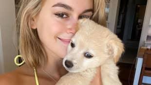 Model Kaia Gerber hat einen süßen Welpen adoptiert