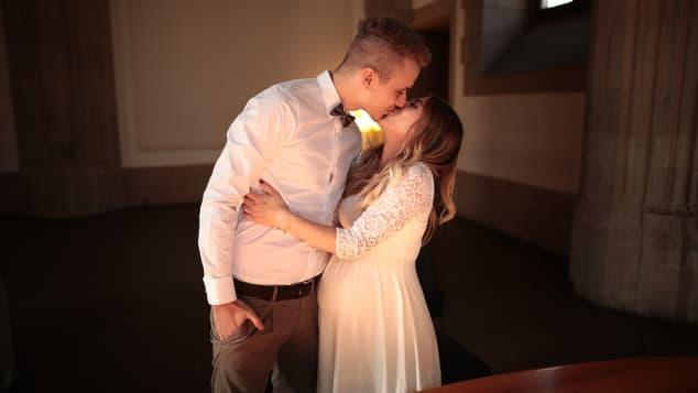 Bibi Heinicke und Julian Claßen haben geheiratet