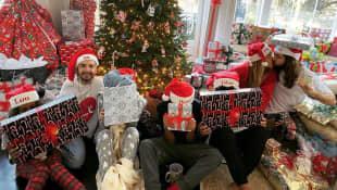 Heidi Klum, Tom Kaulitz, Bill Kaulitz und Familie