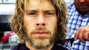 "Eric Christian Olsen alias ""Deeks"" beim Drehstart zur 11. Staffel  ""Navy CIS: LA"""