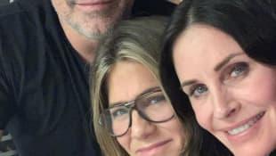 Matt LeBlanc, Courteney Cox und Jennifer Aniston