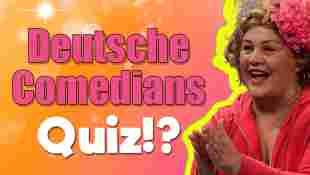 Deutsche Comedians Quiz