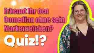 Quiz: Erkennt ihr den Comedian ohne sein Markenzeichen?