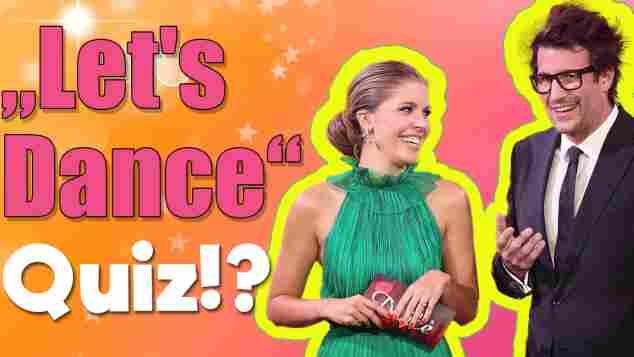 lets dance quiz