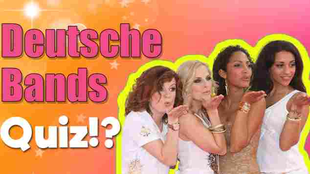 deutsche bands quiz