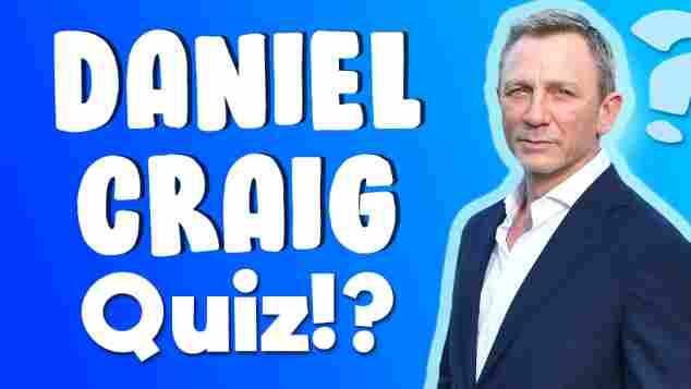 Daniel Craig Quiz