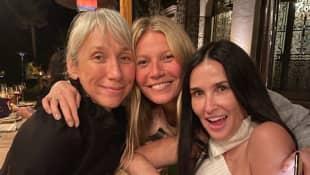 Alexandra Grant, Gwyneth Paltrow und Demi Moore