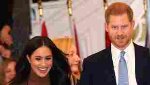 Herzogin Meghan und Prinz Harry bei einem Besuch im Canada House