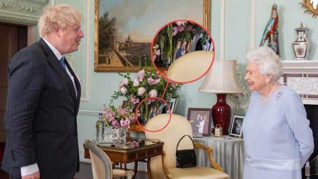 Königin Elisabeth, Boris Johnson