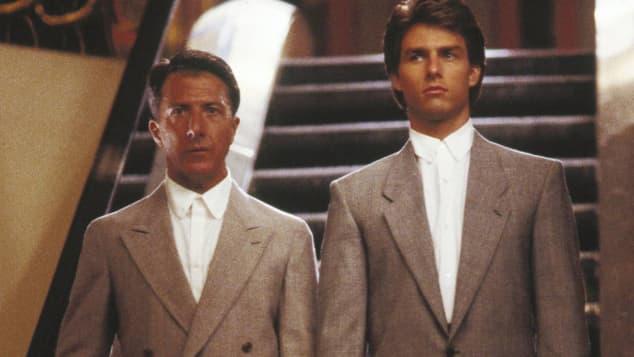"""Dustin Hoffman und Tom Cruise in """"Rain Man"""""""