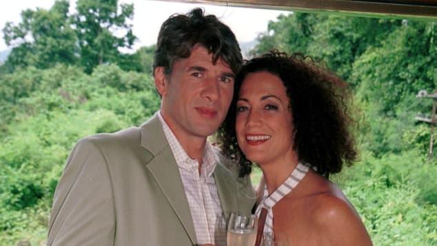 Daniel Morgenroth und Barbara Wussow