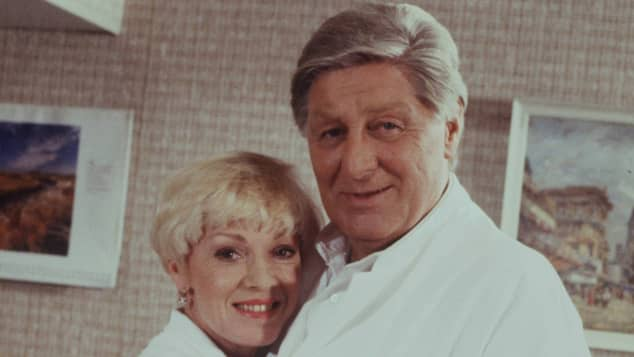 Anita Kupsch und Günter Pfitzmann