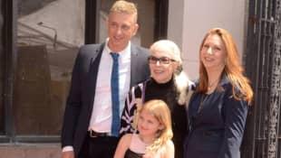 Barbara Bain und Familie