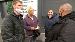 """Die Wollnys"": Peter, Silvia, Sarah-Jane und Harald"