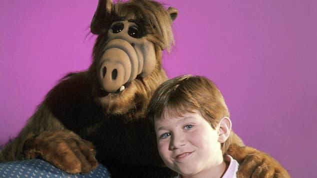 """Alf"" und Benji Gregory"