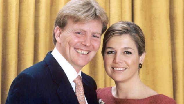 Wilhelm Alexander und seine Verlobte Maxima Zorreguieta
