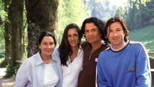 Die Familie Coradalis: Ingrid, Angeliki, Costa, Lucas und Eva