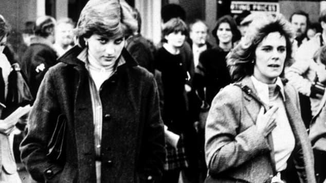 Lady Diana und Camilla Parker Bowles