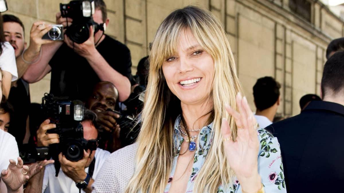 Heidi Klum zeigt ihr Brautkleid und verrät den Designer