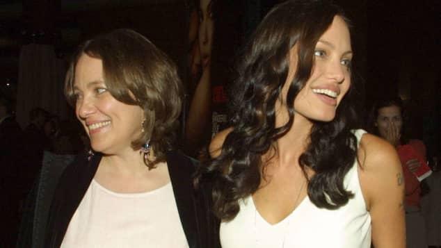 Marcheline Bertrand und Angelina Jolie