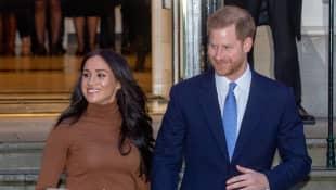 Herzogin Meghan Prinz Harry Rücktritt Austritt Datum