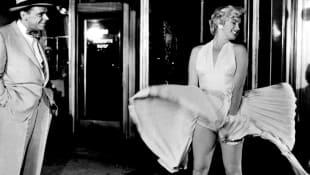 """""""Das verflixte 7. Jahr"""": Tom Ewell und Marilyn Monroe"""
