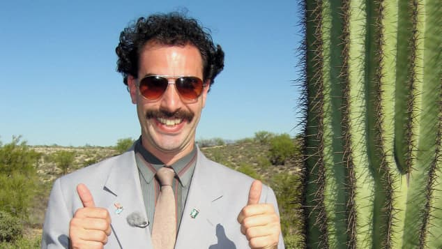 "Sacha Baron Cohen als ""Borat"" 2006"