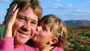 Steve Irwin und Tochter Bindi Irwin