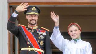 Prinz Haakon und Prinzessin Ingrid Alexandra
