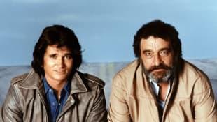 Michael Landon und Victor French