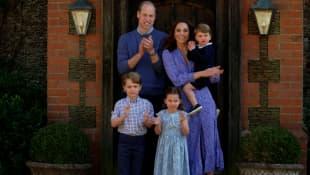 Prinz William, Herzogin Kate und ihre Kinder
