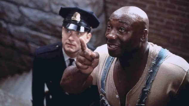 the green mile tom hanks michael clarke duncan