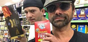 Ashton Kutcher und John Stamos