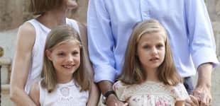 Die spanischen Royals schweben im Familienglück